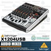 BEHRINGER X1204USB ( X 1204 USB ) MIXER with Soundcard / Inteface