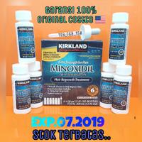 Kirkland Minoxidil 1 Box Full Segel Isi 6 Botol