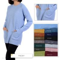 Pocky sweater | sweater rajut | baju rajut | rajut korea | rajutan