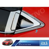 Honda HRV End Pillar Krom JSL / Aksesoris Mobil Chrome