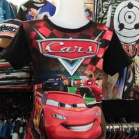 Cars 3 Kaos-Baju Distro Anak Lightning McQueen Fullprint 3D Film