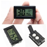 Mini LCD Digital Hygrometer Thermometer Termometer Pengukur Kelembaban