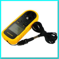 Digital Anemometer Thermometer Alat Ukur/Pengukur Kecepatan Angin