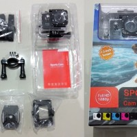Sports Cam Full HD DV 1080P Waterproof Action camera , kamera termurah