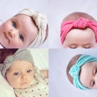 Baby Cotton Turban Headband / Bandana Bayi