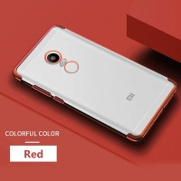 Xiaomi Redmi Note 4 4X Transparan back cover soft case hp TPU PLATING