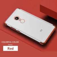 Xiaomi Redmi Note 4 4X Transparan back cover soft case hp TPU PLATING