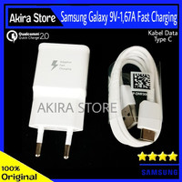 Charger Samsung Galaxy Note FE Note 7 C9 Pro Original 100% Fast Charge