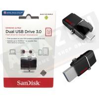 SANDISK FLASHDISK ULTRA DUAL DRIVE USB 3.0 32GB / USB OTG ORIGINAL!