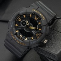 Jam Tangan Digitec DG-2020T Black Gold Original