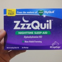 ZzzQuil Night Time Sleep Aid 48 Caps from VICKS