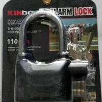 Gembok Alarm - Gembok Siren Alarm SAFETY PADLOCK ALARM by KINBAR