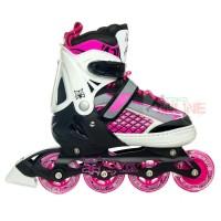 Sepatu Roda LYNX R55 Pink/Black Recreational Inline Skate