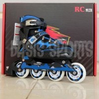 SEPATU RODA   INLINE SKATE   ROLLER BLADE COUGAR CR3 RED DEVILS BLUE 7016d391bf