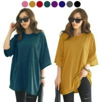 BAJU BLOUSE MUSLIM korea tee blouse jumbo xxl xxxl bigsize wanita