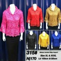 BAJU WANITA BLOUSE MUSLIM blouse brokat / blouse brukat / atasan
