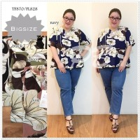 ATASAN BLOUSE Blouse Jumbo Baju Atasan Wanita Big Size Ukuran Besar