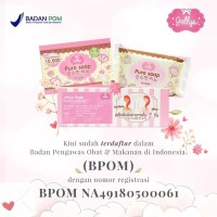 Jual Jellys Pure Soap / Original Thailand 100% dan BPOM Murah