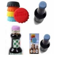 Tutup Botol Silikon jaga isi botol (1 set = 6 pcs tutup botol) HPD061