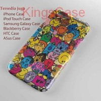 Mr Men and Little Miss Character Phone Case Semua Type HP
