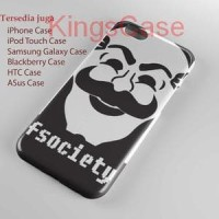 mr robot fsociety logo Phone Case Semua Type HP