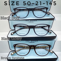Kacamata eyewear Frame Ted Baker Denny Hitam Glossy