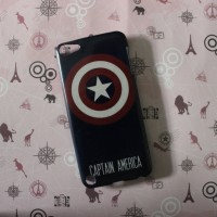 CAPTAIN AMERICA case casing iphone zenfone samsung redmi a1 oppo F5 5a