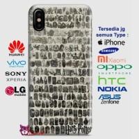 Harry Potter Spell Black Cover Phone Case Semua Type HP
