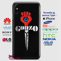 Hunter S Thompson Gonzo Phone Case Semua Type HP