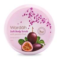 Wardah Soft Body Scrub with Passion Fruit 150ml