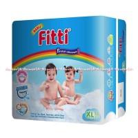 Harga fitti basic tape rainbow popok bayi tipe perekat diaper size xl | Hargalu.com