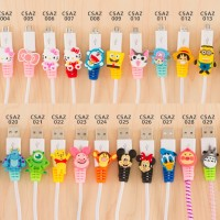 Android Cartoon Cable Protector / Pelindung Kabel / Cable Saver