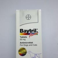 Harga baytril flavour tablet 50mg antibiotik anjing   antitipu.com
