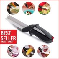 Clever Cutter Gunting Pemotong Daging, Buah dan Sayur Praktis