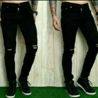 celana panjang pria/skinny/soft jeans/ripped