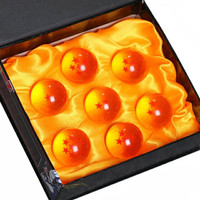 7pcs/set 3.5CM Dragon Ball Z 7 Stars Crystal Balls