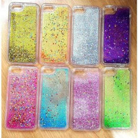 Casing Hp Blink Water Glitter Iphone 7 Plus