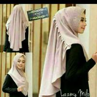 Promo hijab khimar / hijab Khimar Lazmy Kriwil