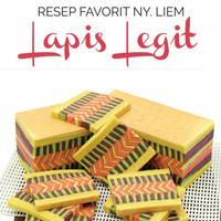 Buku Resep Favorit Ny. Liem: Lapis Legit - Chendawati