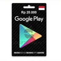 google play gift card region indonesia-20.000
