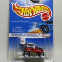hot wheels lawas radio flyer wagon