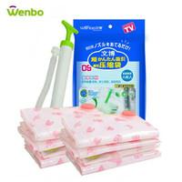 Tas kantong plastik/Wenbo vacuum bag/Vakum bag plastik set isi 8