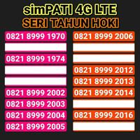 Jual Telkomsel Kartu Perdana Simpati 4G LTE Nomor Cantik 777 888 999 000 Murah