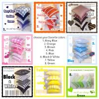1 Set Sarung Bantal (5 sarung bantal) Sofa Kursi Kepala Kamar 40x40
