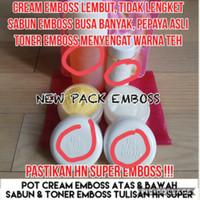 paket krim/cream hn besar 30gr isi full 35gr original emboss