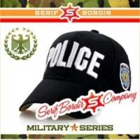 Topi Pria Bordir POLICE Atribut Polisi Bordir Golf Tentara