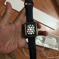 apple watch series 2 midnight blue second ex indo