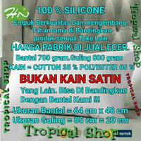 Khusus Bantal & Guling Silikon silicon 100% BUKAN Dakron/ Bantal Hotel