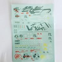 Water Decal MG Astray Red Frame 1/100 Gundam Master Grade