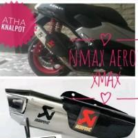 Harga knalpot racing xmax akrapovic tameng db killer stainless | Pembandingharga.com